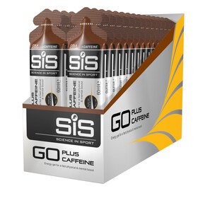 SiS GO Plus Caffeine Gel Box 30x60ml, Cola